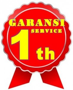 Garansi Service 1 thn