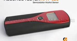 Alat Penguji Tingkat Kadar Alkohol Digital AMT125